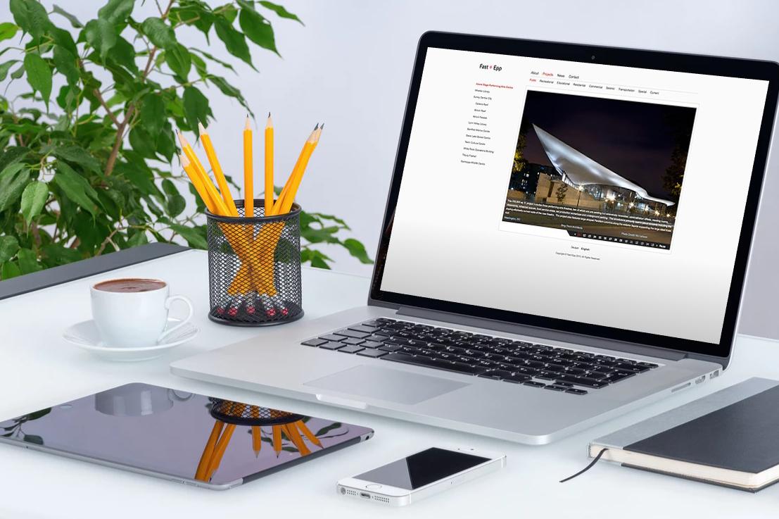 Fast + Epp website